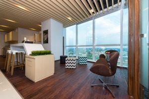 ruang perkantoran modern